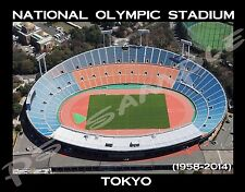 Tokyo - NATIONAL OLYMPIC STADIUM (OLD) - travel souvenir FLEXIBLE fridge magnet