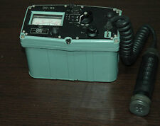 Military Geiger Muller radiation Counter -Detector-DR-M3 with Radiation Source