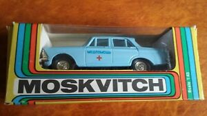 Moskvitch Doctor's Car. 1/43 scale
