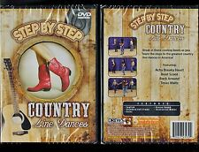 Step By Step Country Line Dances - Learn how to cowboy dance - Brand New DVD