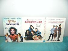 Sixteen Candles - The Breakfast Club - Weird Science - 3 Movies 3 Disc DVD