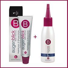 KIT- BERRYWELL Professional Eyebrow & Eyelash Tint Dyes 15ml+Oxidant Liquid 61ml