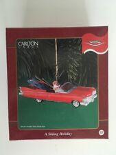 Carlton Cards A Skiing Trip Heirloom Collection Ornament Nib 57