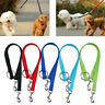 Double Ended Dog Lead For 2 Dogs 2 Way Coupler Leash Walking M4A3 Duplex Re U1C9