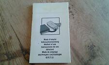 Usado - LONGINES - Manual instrucciones de uso  - Item For Collectors