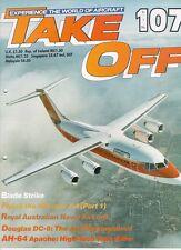 TAKE OFF 107 ROYAL AUSTRALIAN NAVY RAN ACFT_DC-8_AH-64A_VIETNAM CH-47_BAe 146