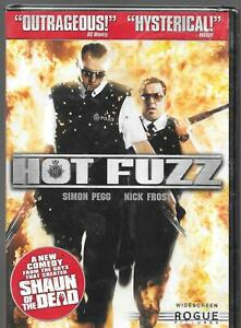 ROGUE Universal, HOT FUZZ (2007 Film), Widescreen Edition, Simon Pegg USED DVD