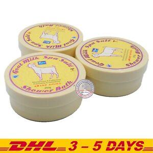 YOKO Goat Milk SPA Salt Shower Bath 250g (8.33 Oz) Pack of 3