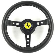 Genuine vintage Momo Prototipo 320mm steering wheel and Ferrari hub kit.      1B