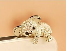 Cell Phone Bling Bear Charm Phone Crystal Strap Accessory (FAST USA SHIPPING)