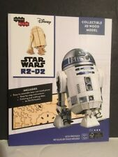 Star Wars R2-D2 Collectible 3D Wood Model - September 2017 LootCrate Exclusive