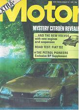 MOTOR Magazine - August 31 1974 - Road Test: Fiat 132