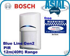 Bosch Alarm ISC-BPR2-W12 Blue Line Gen2 PIR Motion Detector Sensors