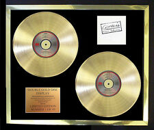 GENESIS 3 SIDES LIVE DOUBLE ALBUM CD GOLD DISC FREE POSTAGE!!