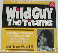 "TITANS 'Wild Guy' 10"" NEW guitar wolf teengenerate supersnazz jet boys 5678s lp"