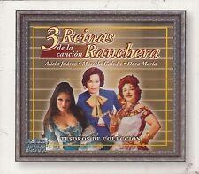 Alicia Juarez,Marcela Galvan,Dora Maria 3 Reinas de la Cancion Ranchera 3CD New