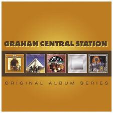 Graham Central Station ORIGINAL ALBUM SERIES Release Yourself MIRROR New 5 CD