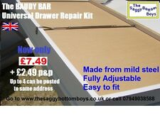 A Superior fully adjustable, Steel, Drawer Repair Kit to fit any size of drawer