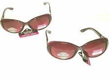 2 Pair Women's Purple Foster Grant Fashion Mode Unite Sunglasses w Free shipping