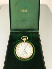 RARE  18K Yellow Gold 47mm Tiffany & Co. Pocket Watch in perfect Condition