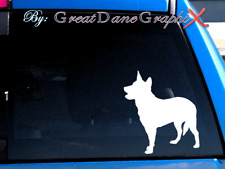 Australian Cattle Dog #1 -Vinyl Decal Sticker -Color Choice -High Quality