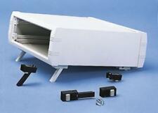 Caja de proyectos de aluminio, blanco, 160 X 130 X 85mm
