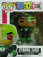 Funko Pop 338 Teen Titans Go Cyborg as Green Lantern Collectable Figure