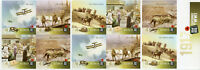 Australia 2017 MNH WWI WW1 100th 1917 Battle Ypres 10v Booklet Aviation Stamps