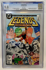 Legends #3 1987 1st Appearance New Suicide Squad CGC 9.8 White Pages