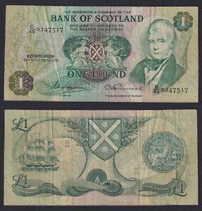 Scozia 1 pound 1975 BB-/VF-  C-07
