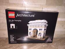 LEGO ARCHITECTURE SET 21036 THE ARC DE TRIOMPHE PARIS FRANCE