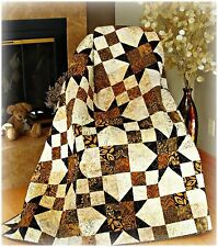 #434 Simply Elegant Quilt Pattern Easy Fast Fat Quarter Friendly twin Queen King
