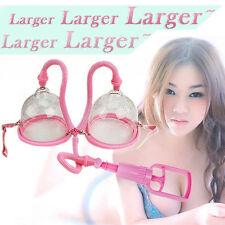 Dual Suction Cups Women Breast Exerciser Pump Enlarger Enlargement Body Enhancer