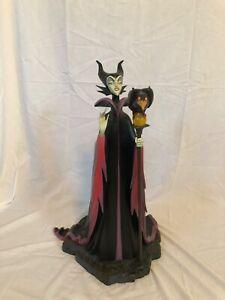 """Maleficent & Diablo """"Maleficent's Gift""""Big Figure (Big Fig) Statue: Rare"""