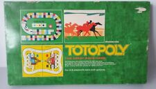 Vintage Totopoly 1978 Board Game Horse Race Racing Waddingtons 100% COMPLETE VGC