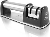 Senzu Sharpener Knife Sharpen Diamond Coated Wheel 2 Stage Version Durable New
