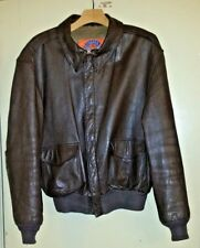 COOPER TYPE A-2 USAF Men's USA Made Leather Bomber Flight Jacket Coat Size 46R