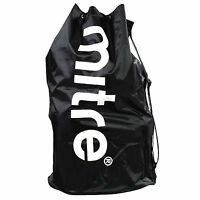 NEW Large Mitre Ball Sack - Holds 12+ Footballs - Cheap Football Sack With Strap