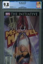 Ms. Marvel 16 CGC 9.8 Greg Horn The Initiative Iron Man New Avengers Wonder Man