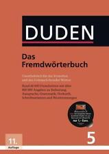 Das Fremdwörterbuch / Duden - Deutsche Sprache Bd.5 (2015, Gebundene Ausgabe)