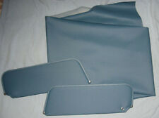 1973-77  grand prix visors and headliner med blue perforated