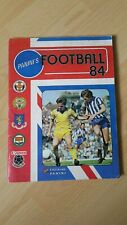 FOOTBALL 84 ALBUM BY PANINI 100% COMPLETE