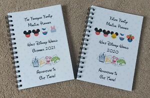 Disney World Florida Family Holiday Planner / Memory Book / Travel Guide
