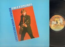 DAVE EDMUNDS Repeat When Necessary LP 1979 UK Swan Song