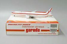 JC Wings 1:400 Garuda Indonesia Boeing B777-300(ER) 'Retro - Flaps Up' PK-GIK