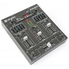 4 KANAL MIXER DJ MISCHPULT BLUETOOTH USB & SD MP3 5 BAND EQUALIZER SOUND EFFEKTE