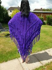 Ladies Hand Knitted Shawl