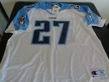 EDDIE GEORGE Tennessee TITANS Football CHAMPION Vintage XL 48 Replica Jersey NEW