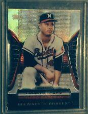 2012 Topps Eddie Mathews Golden Moments Die-Cut Redemption GMDC-22 Braves