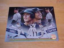 Aaron Judge Giancarlo Stanton Yankees LICENSED 8X10 Photo FREE SHIPPING 3/more